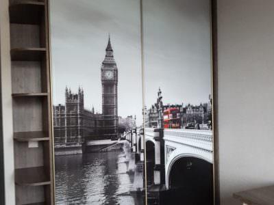 Шкаф-Купе Фотопечать Лондон